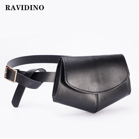 Serpentine Fanny Pack Ladies PU Leather Waist Belt Bag women Mini Disco Waist pack luxury handbags women bag designer chest bag - MikeAndNikes™- We Just Did It - Cream of The Crop®