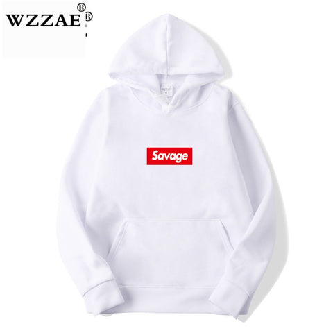 WZZAE 2019 New 21 Savage Street Wear Wool Cotton Suprem Hoodies Parody No Heart X Savage Hoodie Sweatshirt Men Women Hip Hop - MikeAndNikes™- We Just Did It - Cream of The Crop®