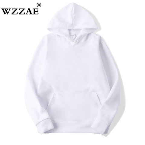 2020 New Casual pink black gray blue HOODIE Hip Hop Street wear Sweatshirts Skateboard Men/Woman Pullover Hoodies Male Hoodie - MikeAndNikes™- We Just Did It - Cream of The Crop®