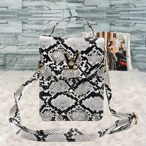 Luxury Brand Handbags Fashion Crocodile Women's bag Snake skin Women Small Tote Clutch Ladies Purse Mini Shoulder Crossbody Bags - MikeAndNikes™- We Just Did It - Cream of The Crop®