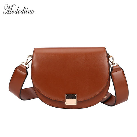 Mododiino Vintage Crossbody Bags For Women 2019  Female Small Saddle Bag Leather Shoulder Bag Luxury Women Bag Designer DNV1057 - MikeAndNikes™- We Just Did It - Cream of The Crop®