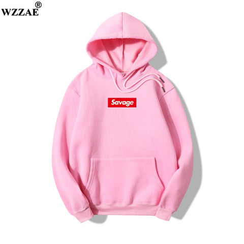 2018 100% Cotton 21 Savage Street Wear Woolcotton Suprem Hoodies Parody No Heart X Savage Hoodie Sweatshirt Men Women Hip Hop - MikeAndNikes™- We Just Did It - Cream of The Crop®