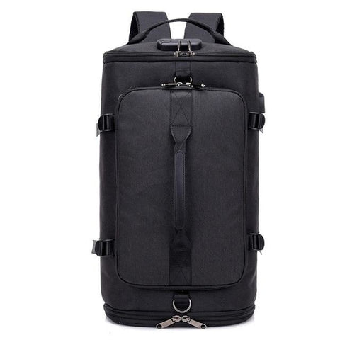 USB Anti-theft Gym backpack Bags Fitness Gymtas - MikeAndNikes™- We Just Did It - Cream of The Crop®