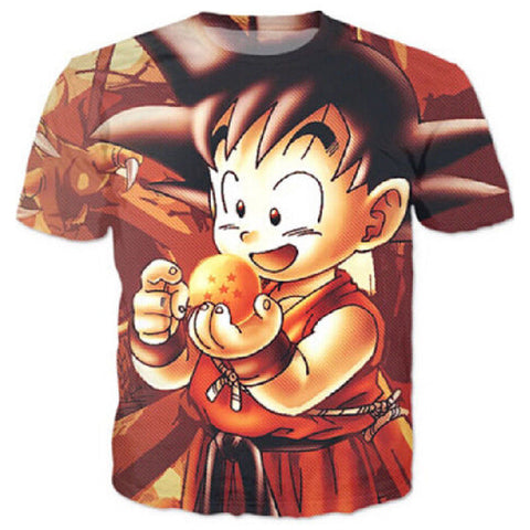 Kid Goku With Ball - MikeAndNikes™- We Just Did It - Cream of The Crop®