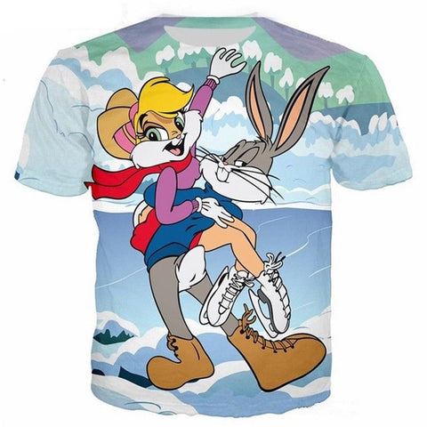 bugs bunny hold hola t shirt