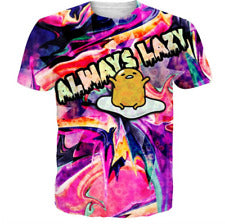 Cartoon funny 3D print women/men's Short Sleeve Casual Tops T-Shirt - MikeAndNikes™- We Just Did It - Cream of The Crop®