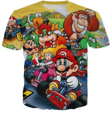 classic super Mario Tops T-Shirt - MikeAndNikes™- We Just Did It - Cream of The Crop®