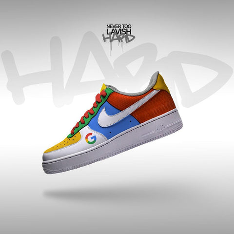 google   - air force one custom - MikeAndNikes™- We Just Did It - Cream of The Crop®