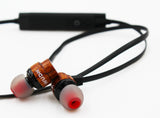 Walnut Bluetooth Ear-buds (Upsell) - MikeAndNikes™- We Just Did It - Cream of The Crop®