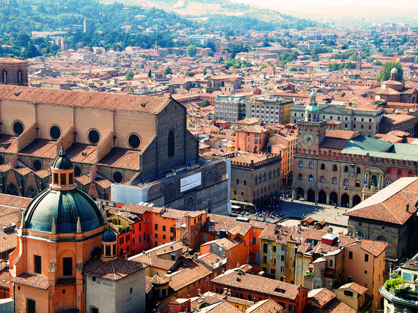 Bologna, Italy where Atelier Lava is located.