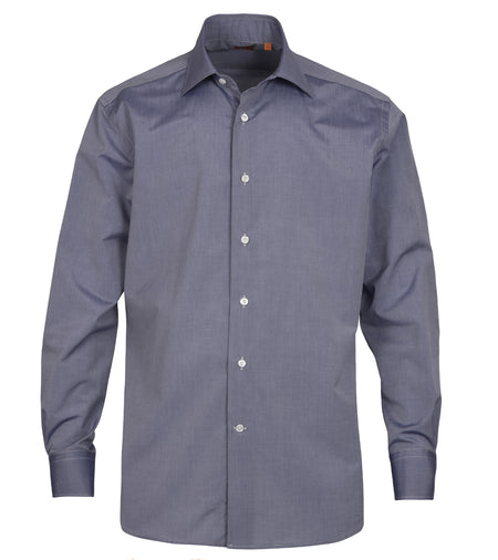 Denim Blue Cotton Shirt