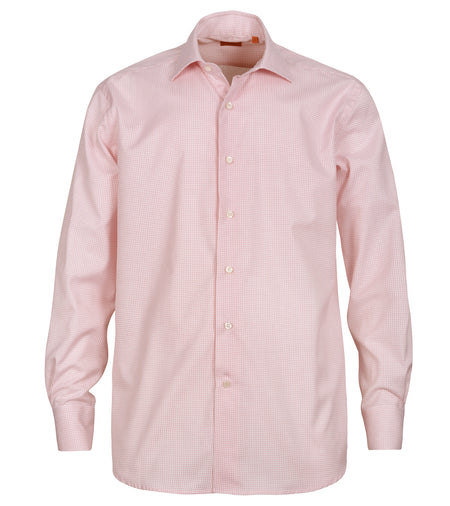 Coral Mini Check Shirt