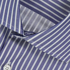 Blue White Stripe Shirt