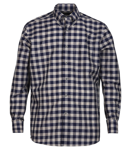 Grey Windowpane Shirt