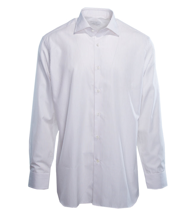 Bordeaux Pinstripe Shirt