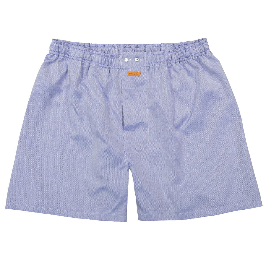 Boxer short in Mid-Blue - Bruli for Via Luca