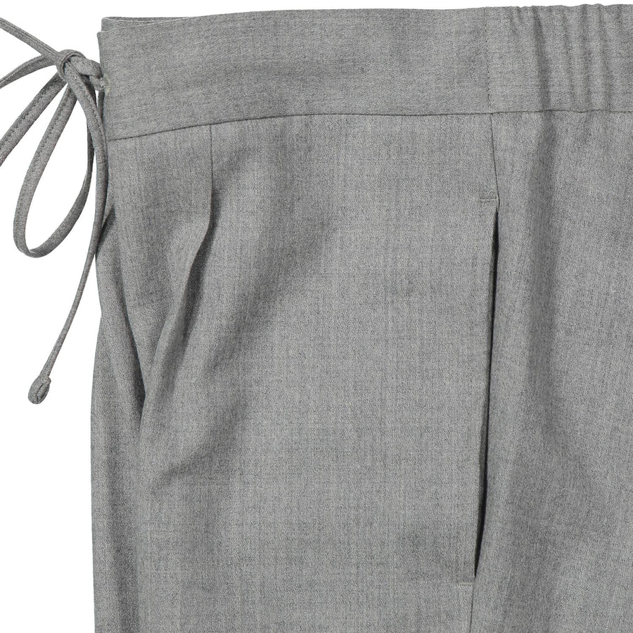 Wool Stretch Drawstring Pant - Equipage for Via Luca