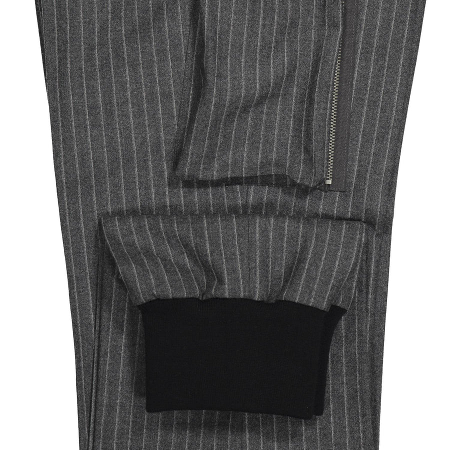 Pocket and cuff detail. Fashionable Jogging Style Pant - by Equipage for Via Luca
