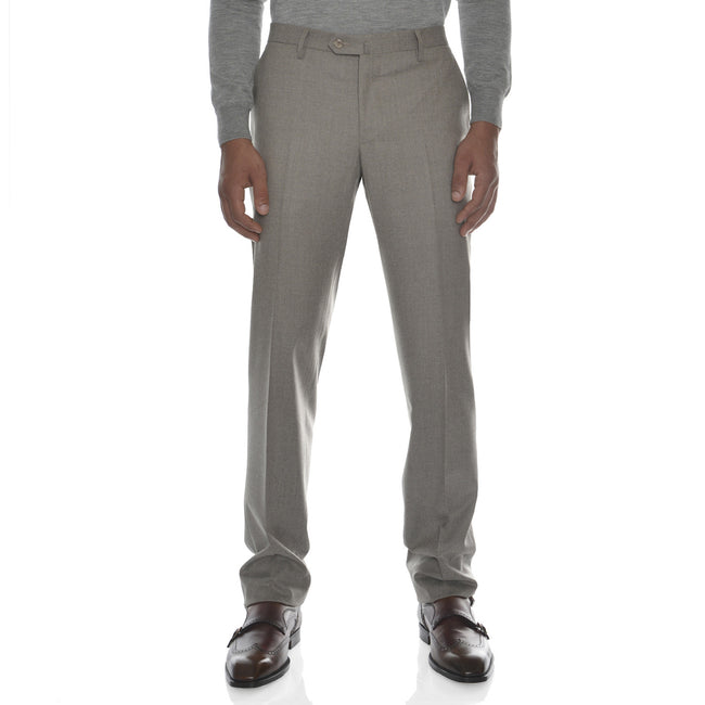 Flat Front Wool Pant - by Equipage for Via Luca