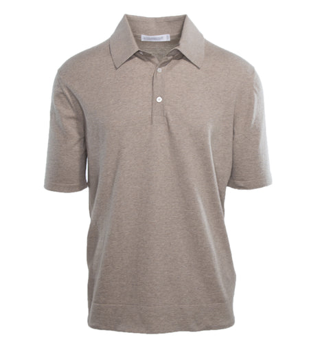 Fine Cotton Knit Polo