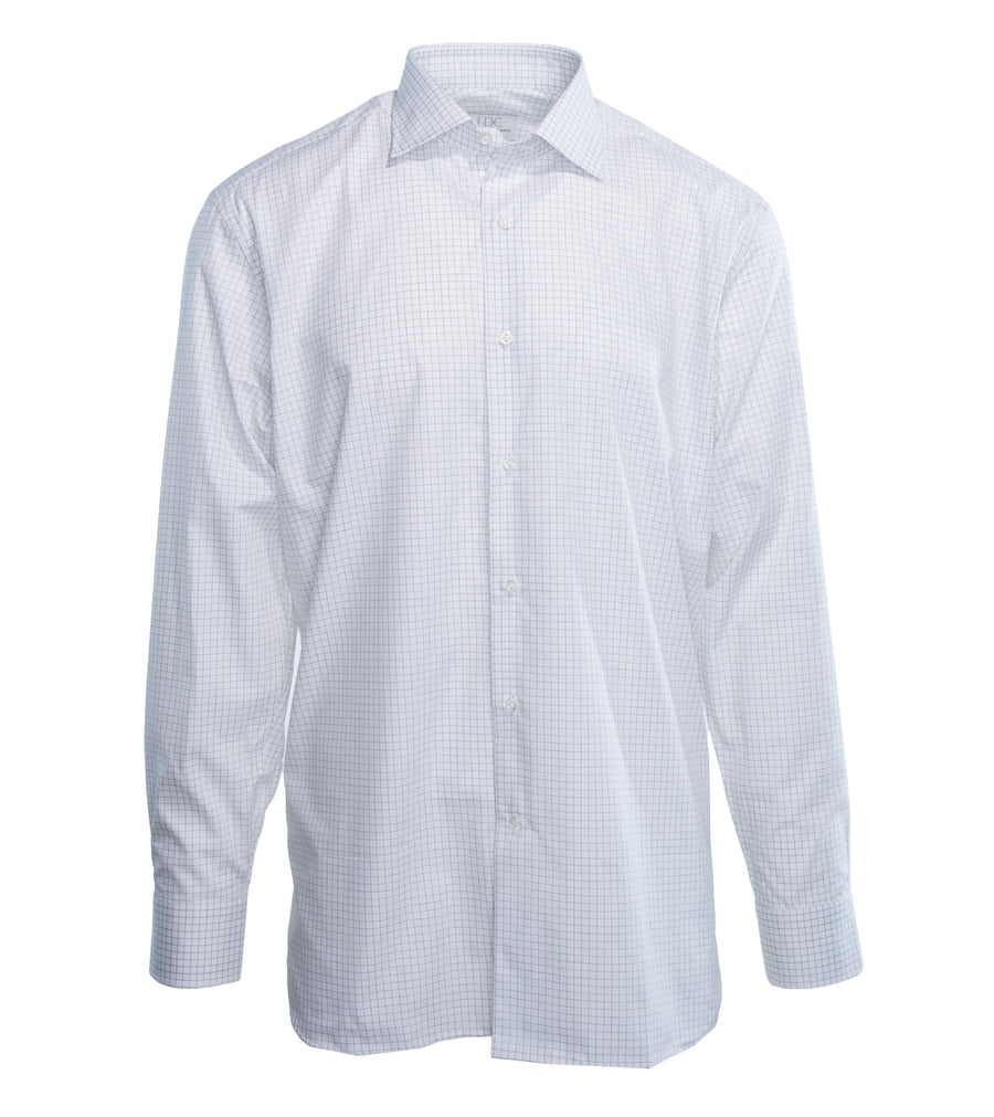 Grey Mini Check Shirt