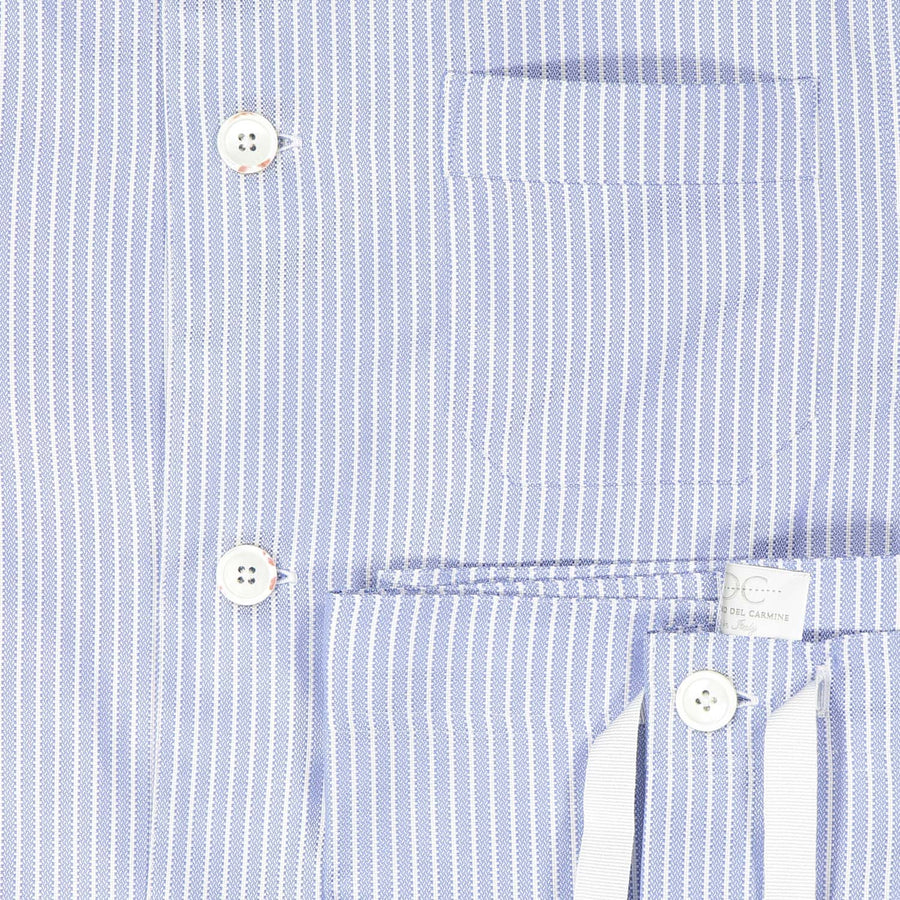 Light Blue with White Stripe Pajamas - by Laboratorio del Carmine for Via Luca