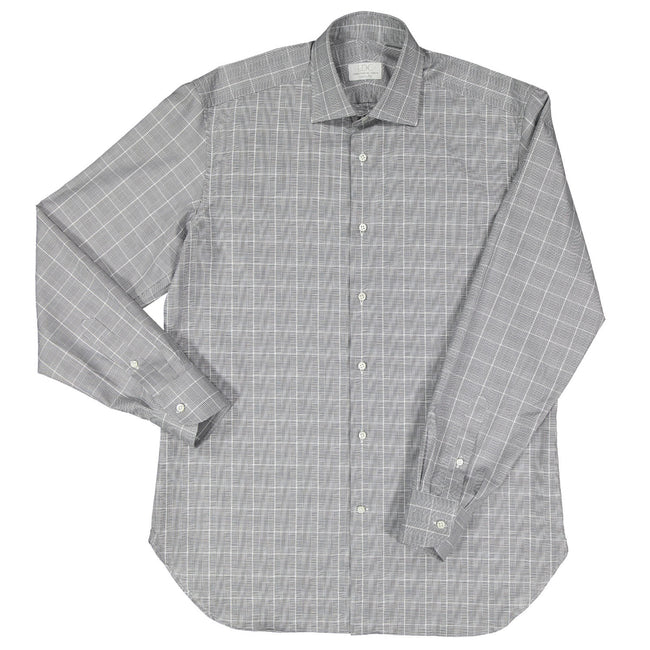 Grey Glenn Plaid Shirt
