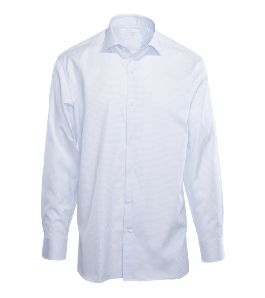 Pale Blue Textured Shirt