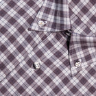 Button-down Plaid Brushed Cotton Casual Shirt
