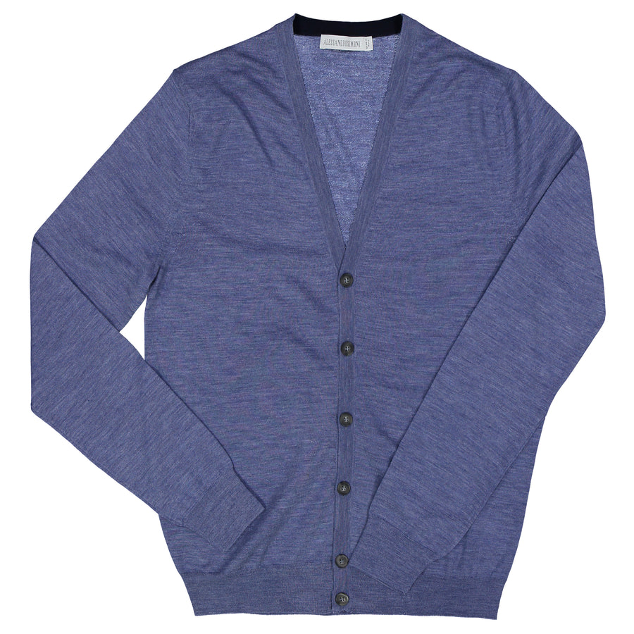 Pure Light Wool Cardigan