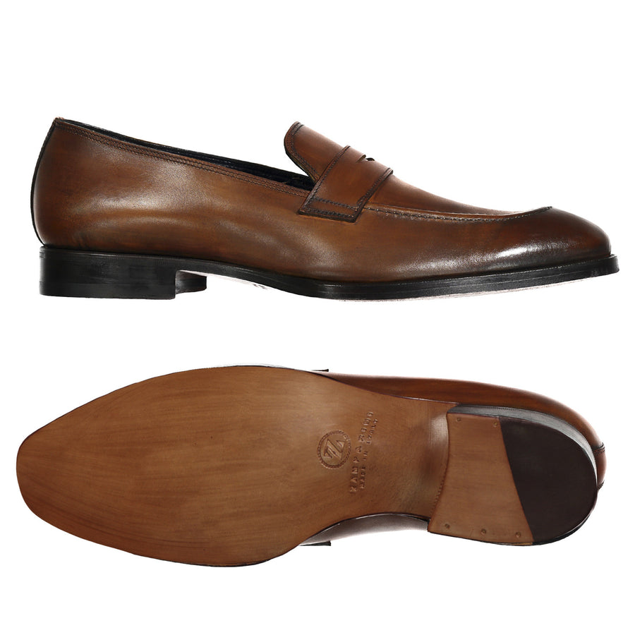 Elegant Loafer Dress Shoe - Zamparini for Via Luca