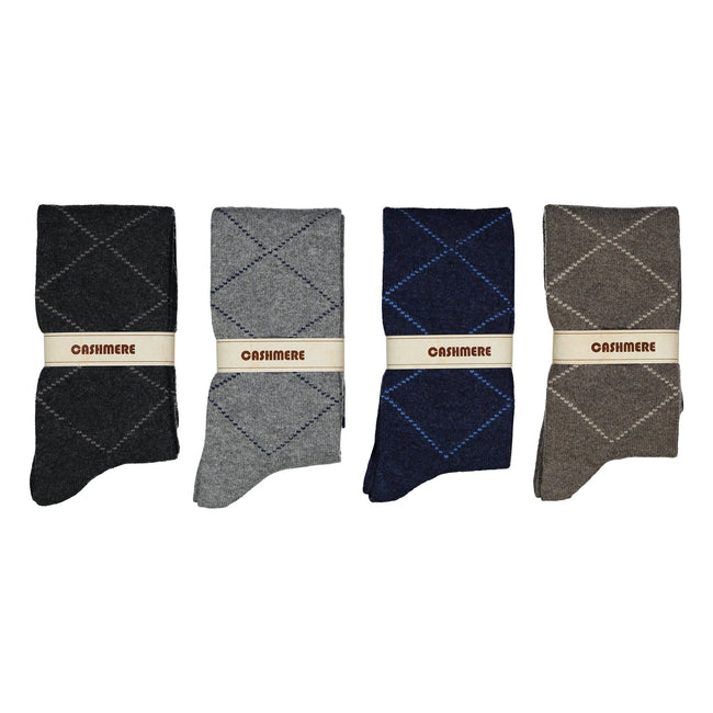 Long Cashmere-Wool Socks