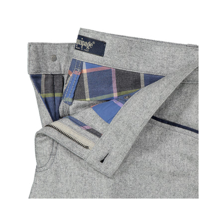 5 Pocket Wool Flannel Trouser