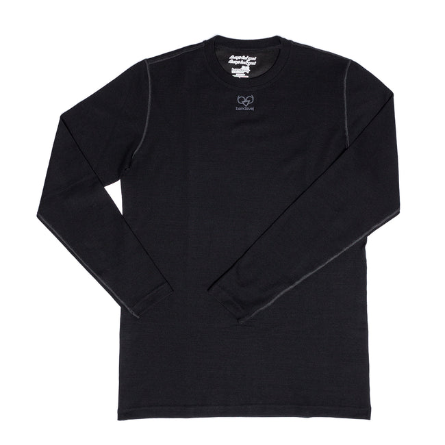 Wool-Blend Long Sleeve Base Layer
