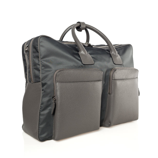 Nylon Leather Briefcase