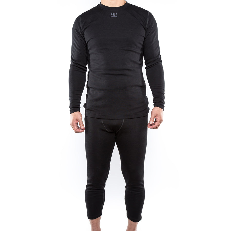 3/4 Length Wool-Blend Tight