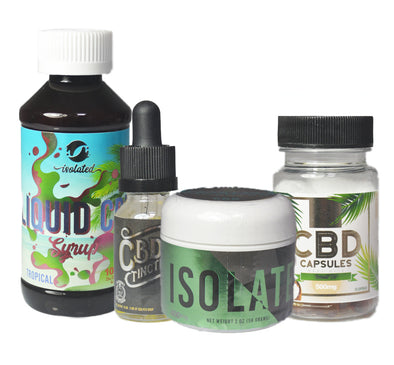"*NEW* ""THE SAMPLE PACK"" - Liquid CBD"