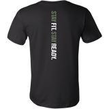 Military Fit- Stay Fit - Stay Ready TEE