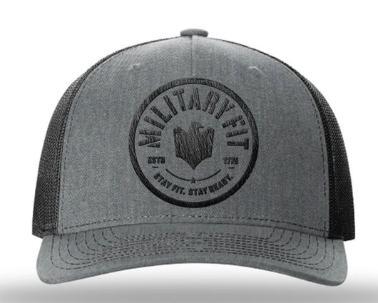 MF Snapback Hat Grey-Black