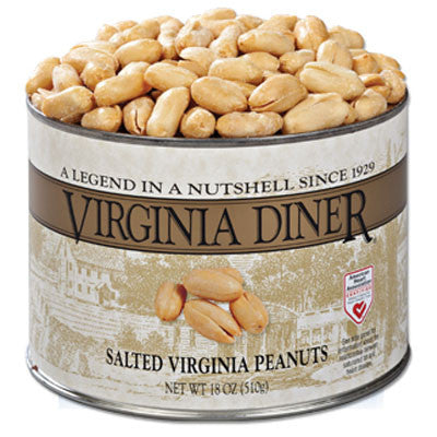SALTED VIRGINIA PEANUTS - 18 oz