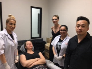 Thank you Vegas Microblading Class of April 2017!