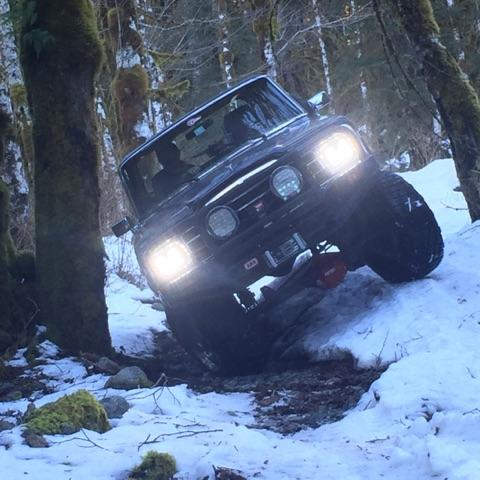 Snow Wheeling and Recovery Class 101