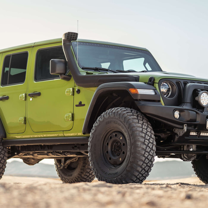 AEV Snorkel for the Jeep Wrangler JL and Jeep Gladiator now Available