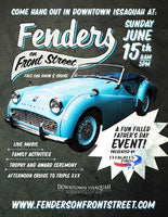 Open Father's Day: Fenders on Front Street Car Show