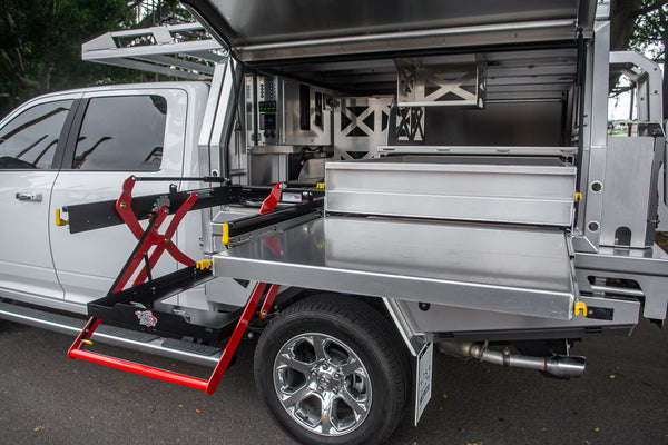 MITs Alloy Flatbed Trays and Canopies now available through Mule Expedition Outfitters www.dasmule.com