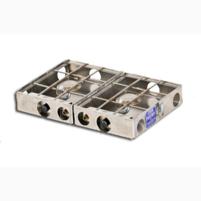 COOK PARTNER 9 IN BREAK AWAY TWO BURNER STOVE