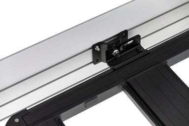 Arb base rack awning bracket - quick release