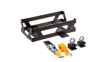 ARB 4x4 Accessories BASE Rack jerry can mount designed to hold a single can at a vertical angle.
