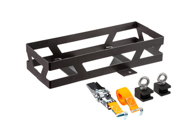 ARB 4x4 Accessories BASE Rack jerry can mount designed to hold a single can at a horizontal angle.