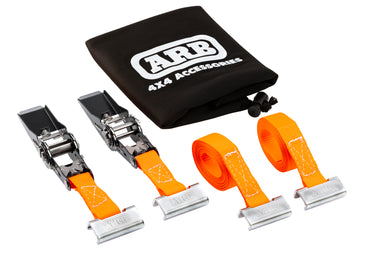 "ARB 4x4 Accessories 118"" universal ratchet strap system for the ARB BASE Rack."